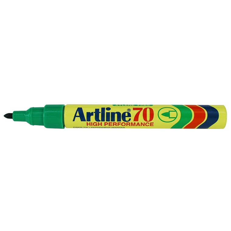 Marker Artline 70 Permanent 1.5 grøn