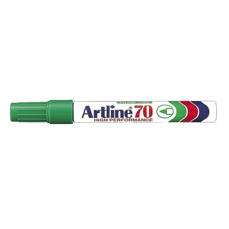 Marker Artline 70 permanent grøn 1,5mm