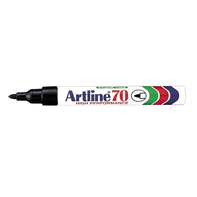 Marker Artline 70 permanent sort 1,5mm