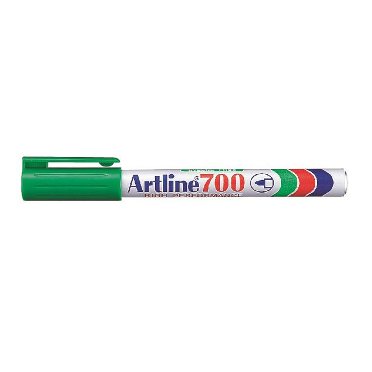 Marker Artline 700 Permanent 0.7 grøn