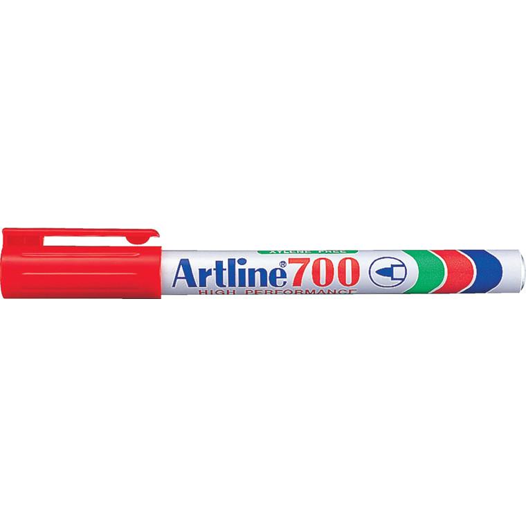 Marker Artline 700 Permanent 0.7 rød