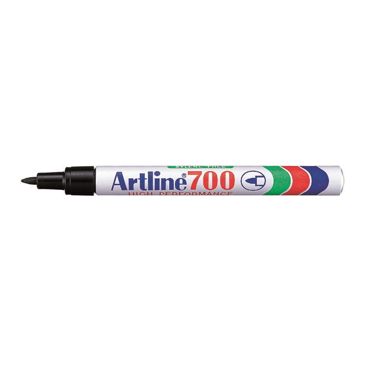 Marker Artline 700 Permanent 0.7 sort