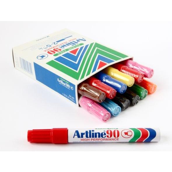 Marker Artline 90 5.0 assorteret farver