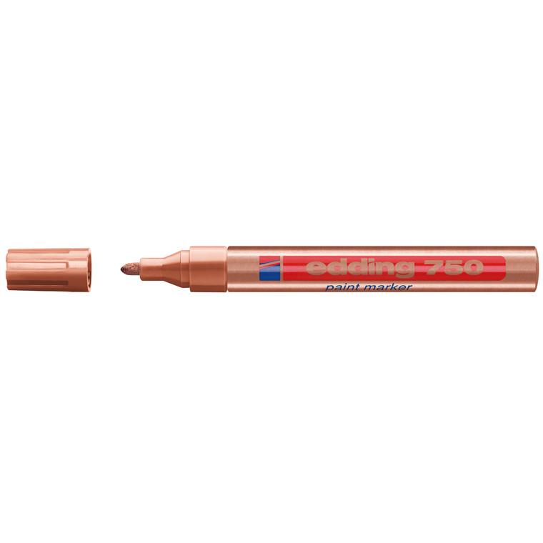 Edding 750 Marker - Permanent kobber farve 2-4 mm