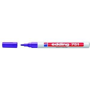 Edding 751 permanent marker - Violet rund spids 1-2 mm