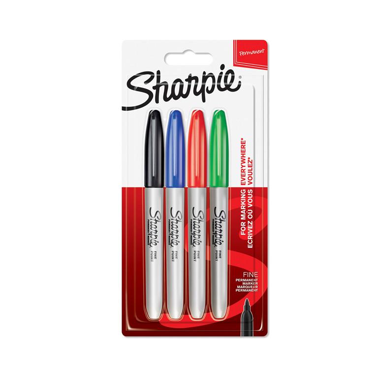 Marker Sharpie Fine Basic 1,0mm ass (4)