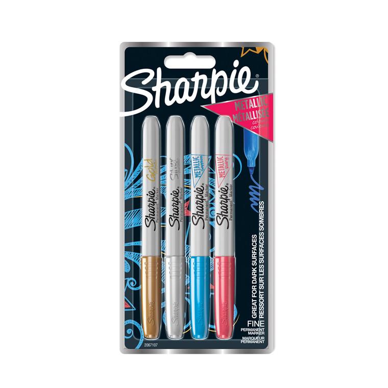 Marker Sharpie Metallic 1,4mm ass (4)