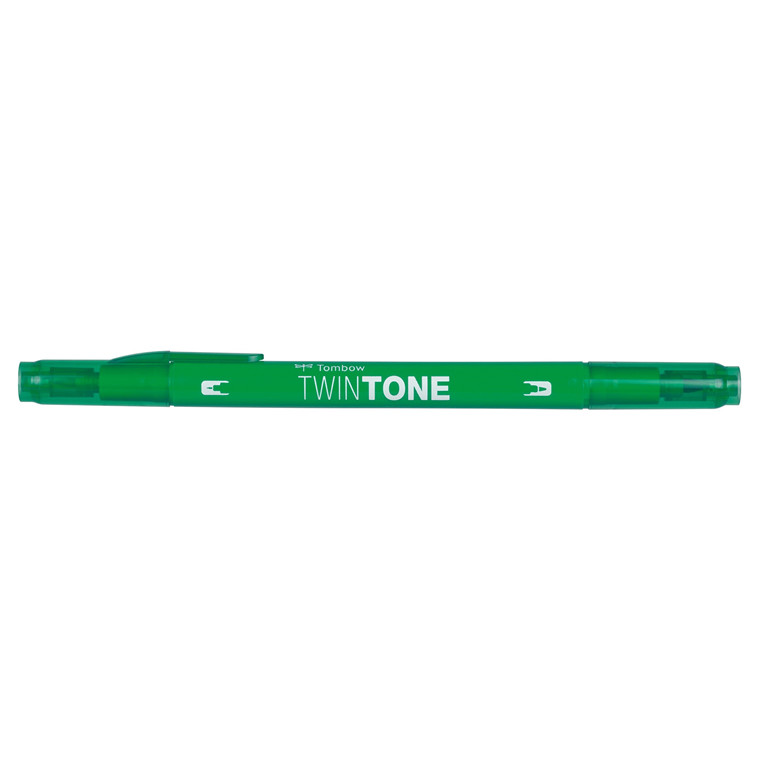 Marker Tombow TwinTone green 0,3/0,8
