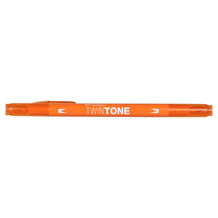 Marker Tombow TwinTone orange 0,3/0,8