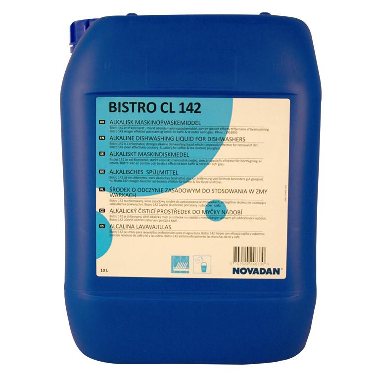 Novadan Bistro CL 142 Maskinopvaskemiddel med klor - 10 liter