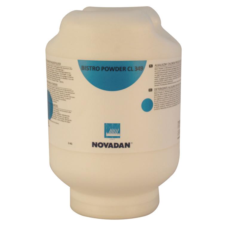 Novadan Bistro Powder CL 349 Maskinopvask med klor - 3 kg