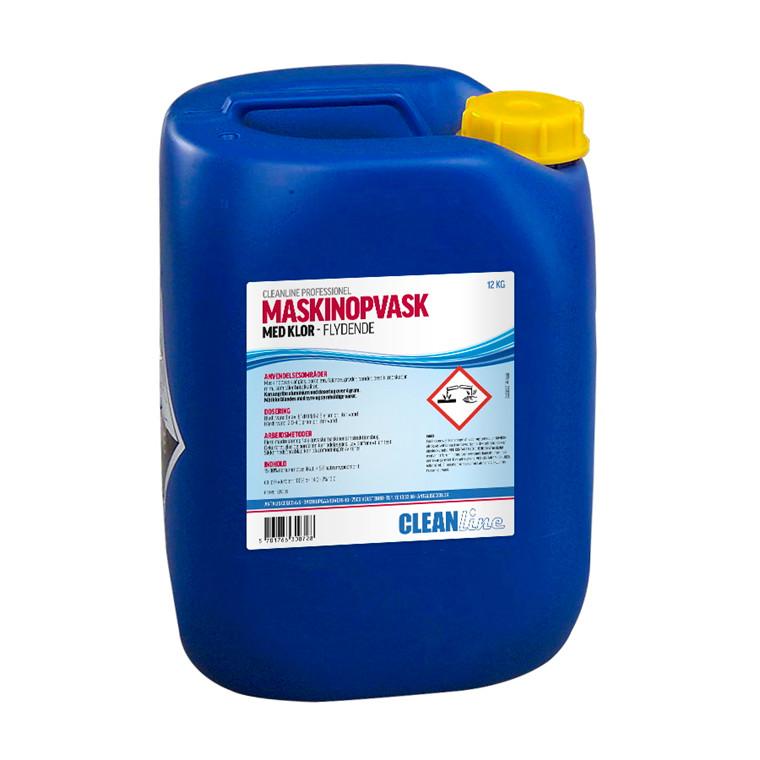 Cleanline Maskinopvask med klor | 12 liter dunk