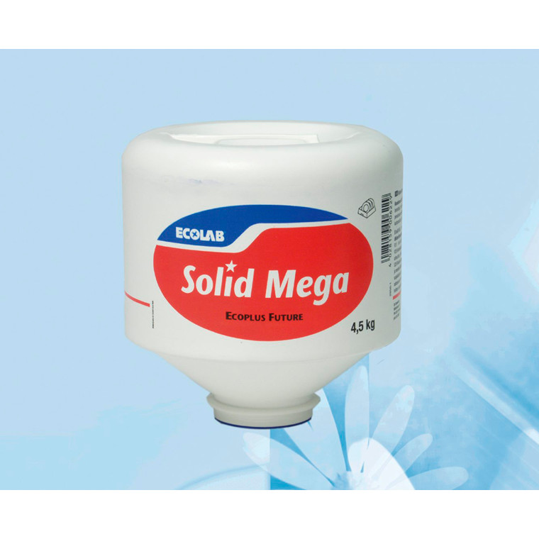 Solid Mega Maskinopvask med klor til dispenser | 4,5 kg