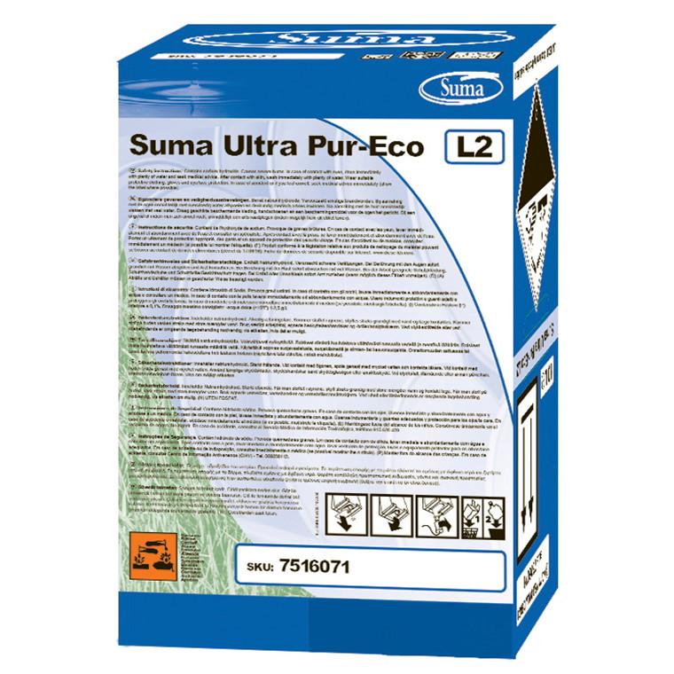 Suma Ultra Pur-Eco L2 Maskinopvask Suma uden klor | 10 liter