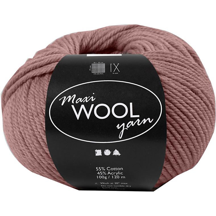 Maxi Wool uldgarn længde 125 meter lavendel | 100 gram