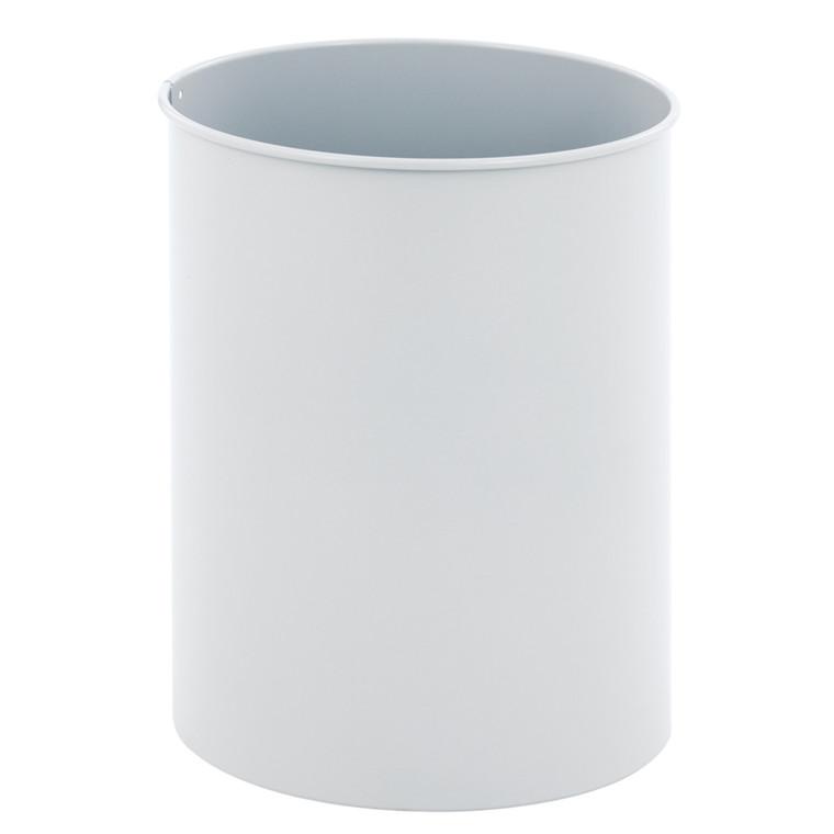 Metal affaldsspand, grå, 30 l