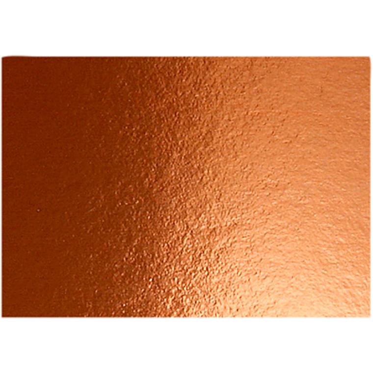 Metalkarton A4 21 x 30 cm 280 gram kobber | 10 ark