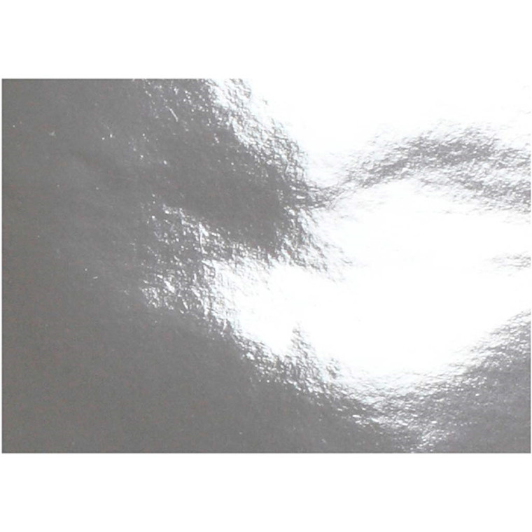 Metalpapir, A4 21x30 cm, 120 g, sølv, 100ark