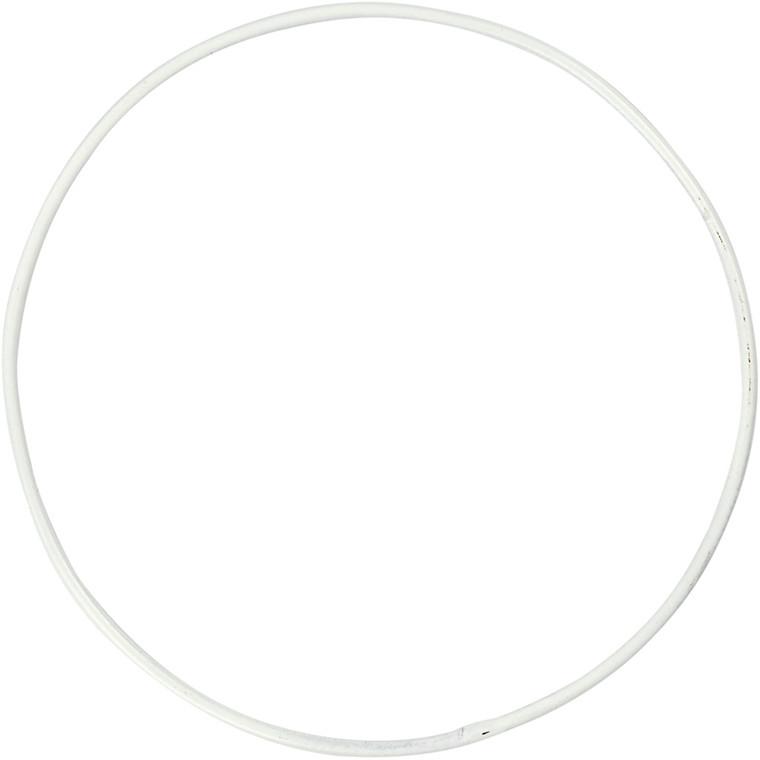 Metalring diameter 10 cm tykkelse 2 mm cirkel | 10 stk.
