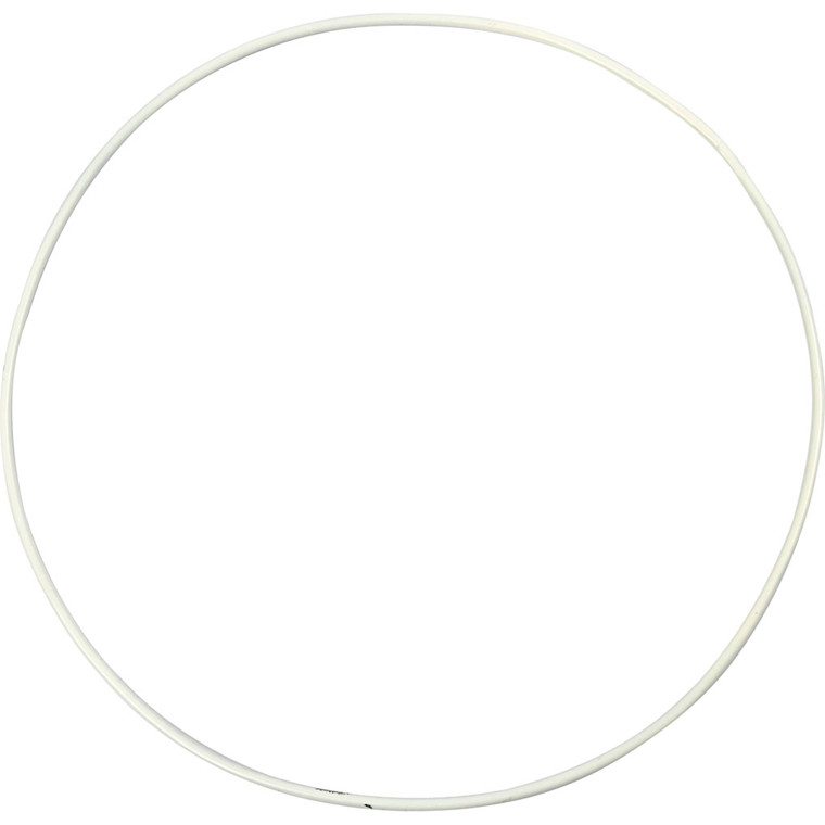 Metalring diameter 20 cm tykkelse 3 mm cirkel | 5 stk.