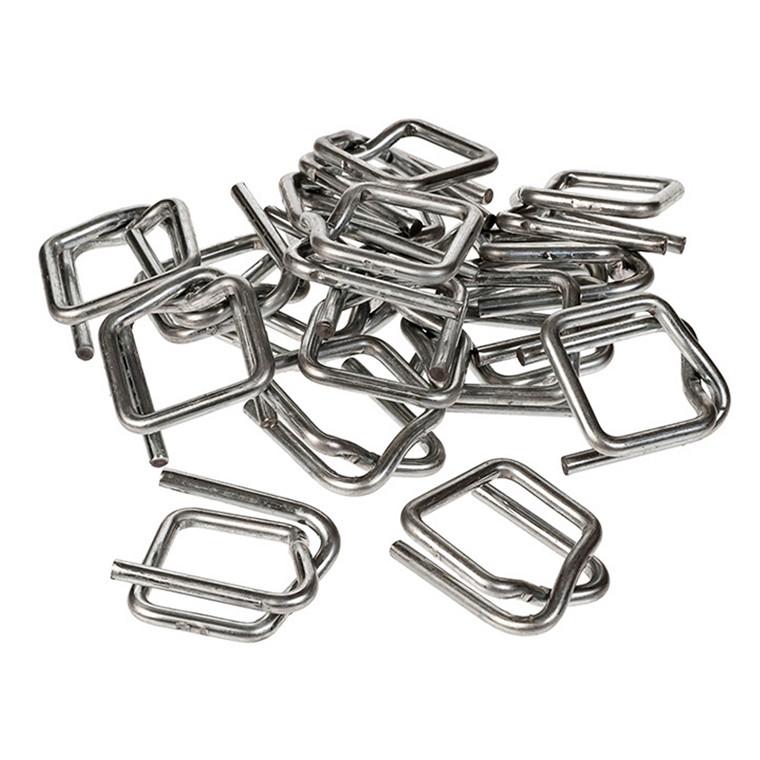 Metalspænder til tekstil og Birtium bånd - 13 mm