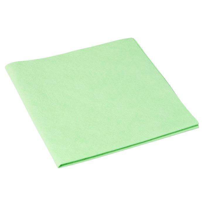 Microfiber klud, Vileda MicroSmart, grøn, 70% polyester, 30% polyamid, 38x36 cm