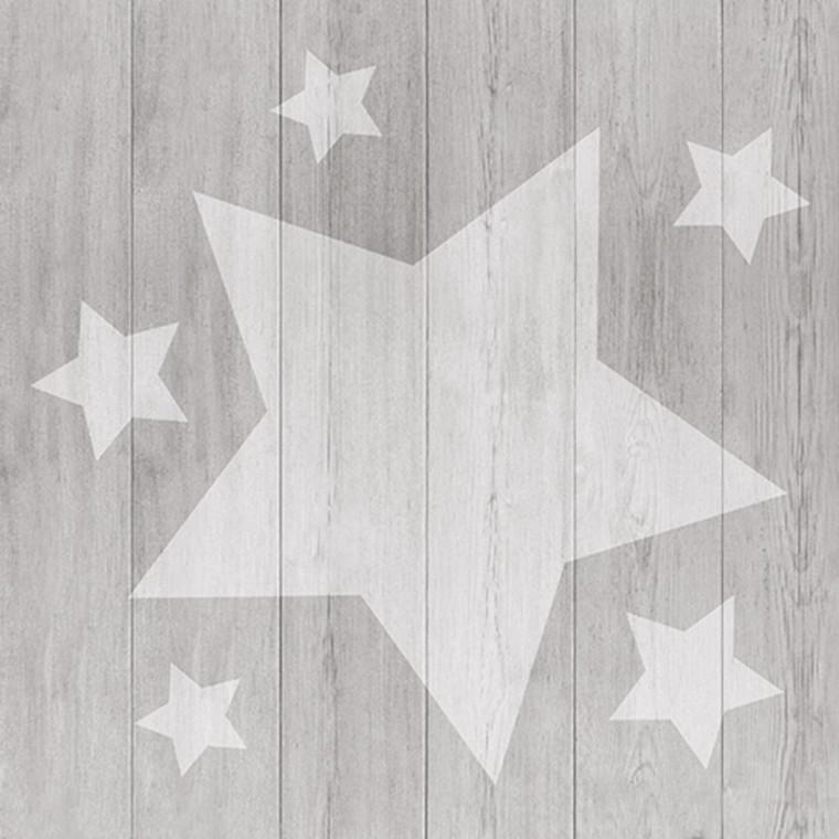Middagsserviet, Abena Gastro-Line, Trendy Christmas, 1/4 fold, 40x40cm, flerfarvet, airlaid