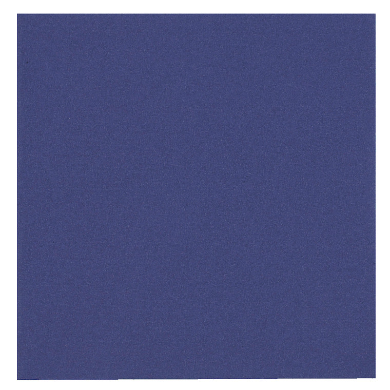 Middagsserviet, Gastro-Line, 3-lags, 1/4-fold, blå, papir, 40cm x 40cm