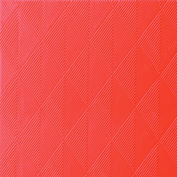Middagsserviet, Duni Elegance Crystal, 1/4 fold, præget, orange, 48x48 cm