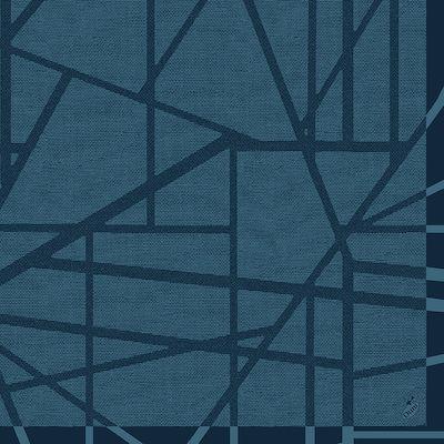 Middagsserviet, Dunilin, Maze Slate, 40cm x 40cm