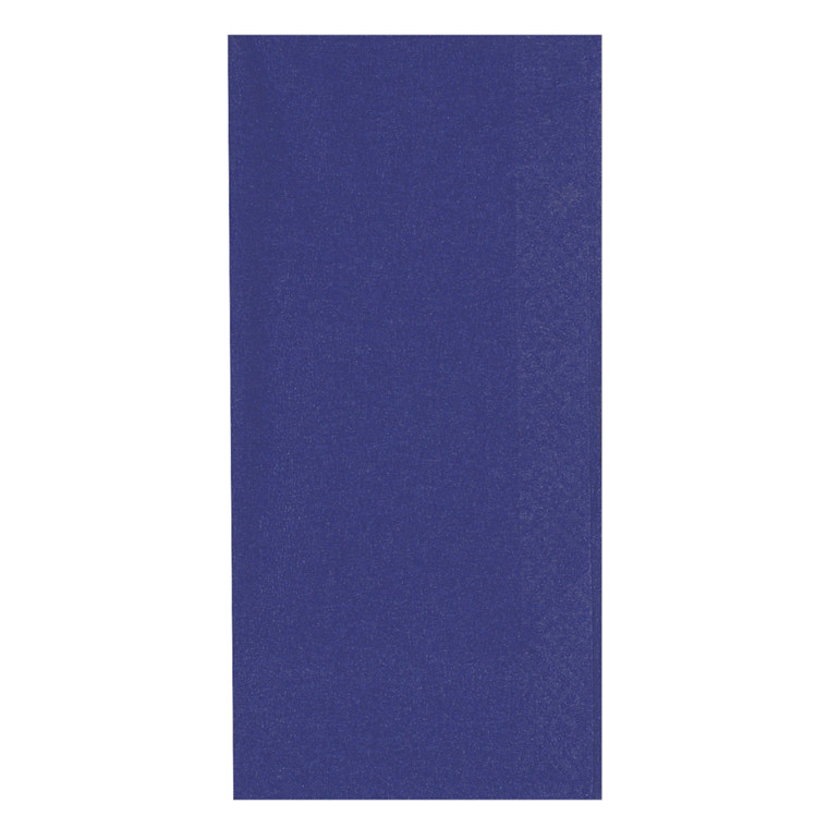 Middagsserviet, Gastro-Line, 3-lags, 1/8 fold, blå, 100% nyfiber, 40cm x 40cm