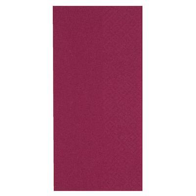 Middagsserviet, Gastro-Line, 3-lags, 1/8 fold, bordeaux, 100% nyfiber, 40cm x 40cm
