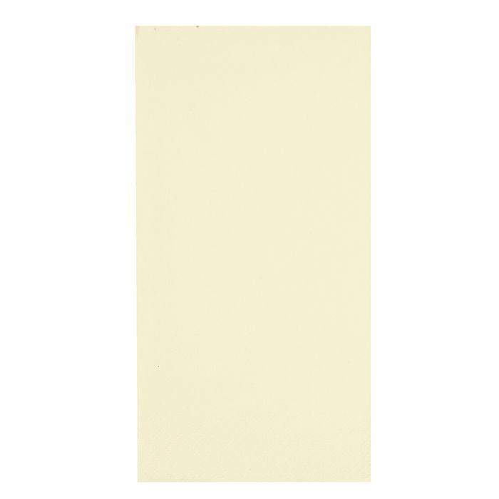 Middagsserviet, Gastro-Line, 3-lags, 1/8 fold, champagne, 100% nyfiber, 40cm x 40cm