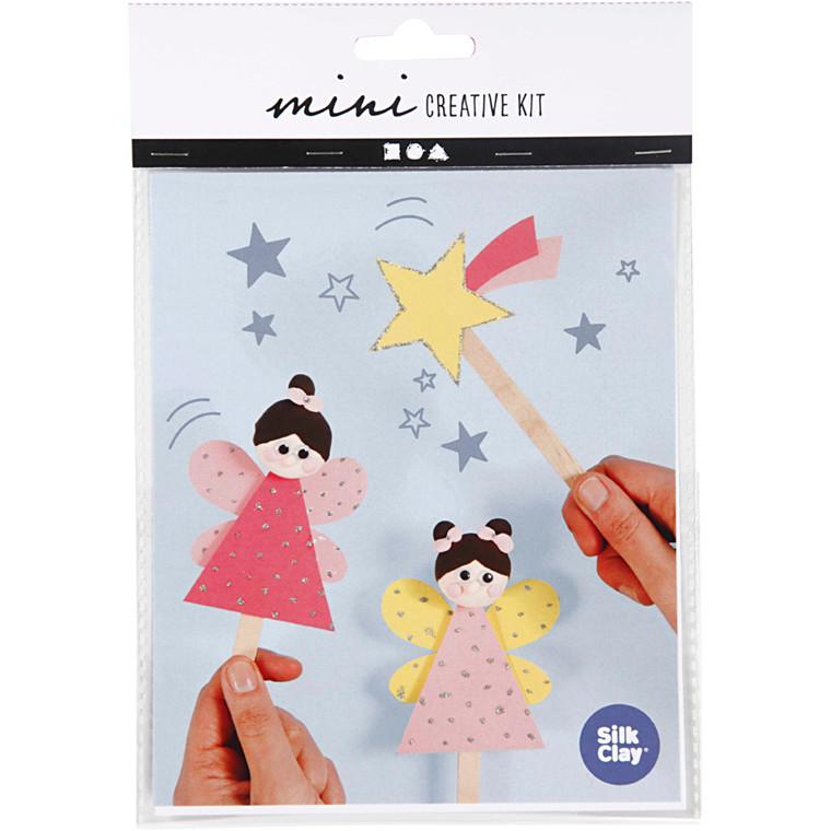 Mini kreative sæt, ispindefigurer- prinsesser, 1sæt
