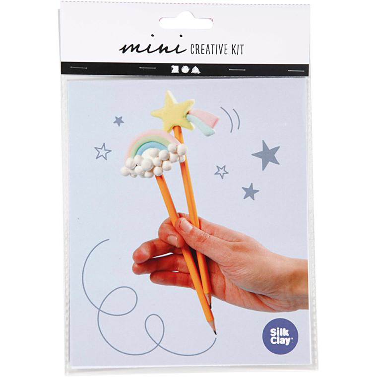 Mini kreative sæt, modellering - blyanter, 1sæt
