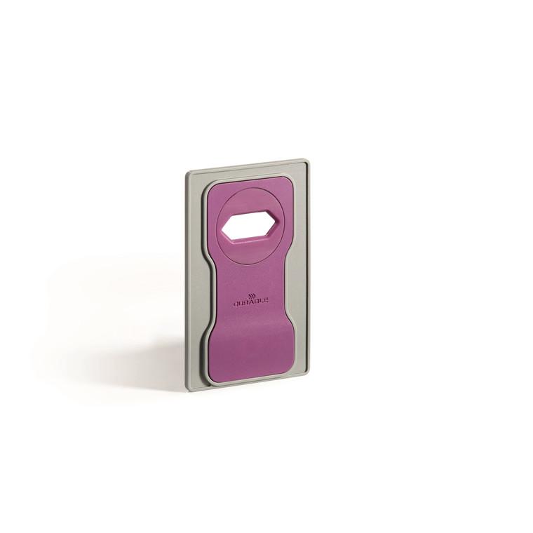 Mobilholder VARICOLOR lyserød t/opladning