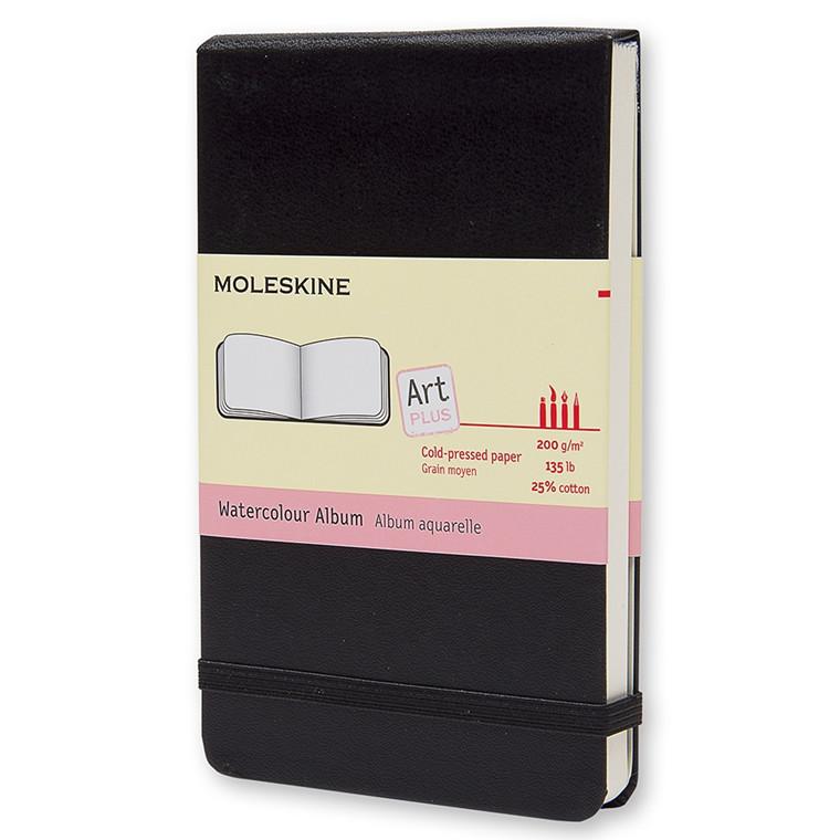 Moleskine Pocket Watercolour Album - Lille Akvarelbog 9 x 14 cm - 60 blanke sider