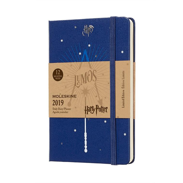 Moleskine Harry Potter Ugekalender 2019 | Blue 9 x 14 cm