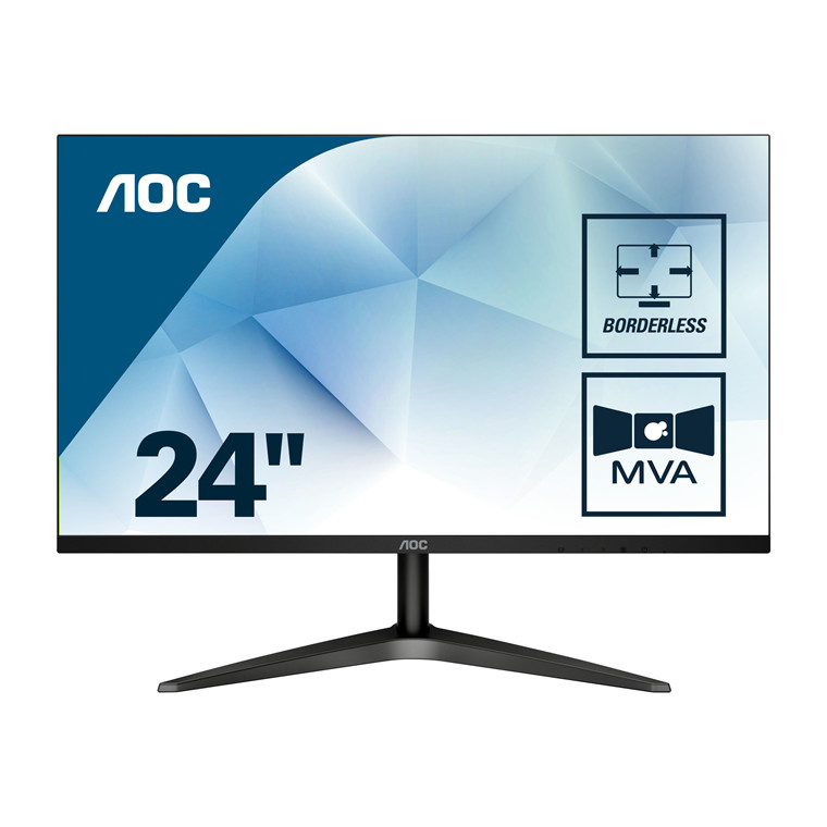 "Monitor AOC 24B1H 23.6""  LED VGA HDMI Full HD 3000:1"