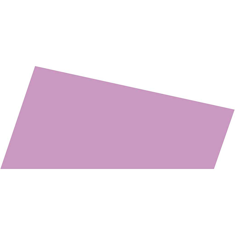 Mosgummi lys lilla A4 21 x 30 cm tykkelse 2 mm - 10 ark