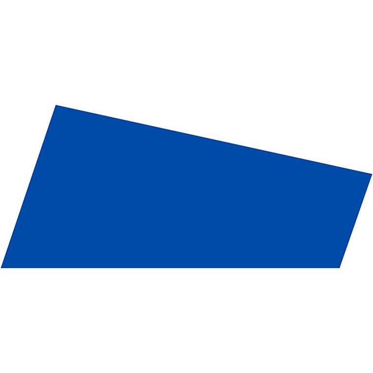 Mosgummi A4 21 x 30 cm tykkelse 2 mm mørk blå | 10 ark