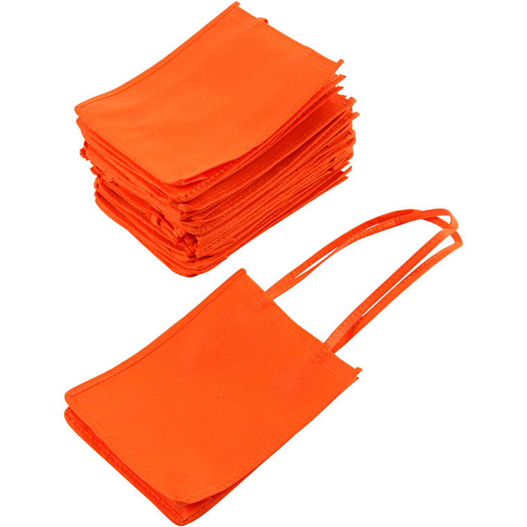 Halloween Bags - Orange Muleposer 20 x 15 cm | 20 stk