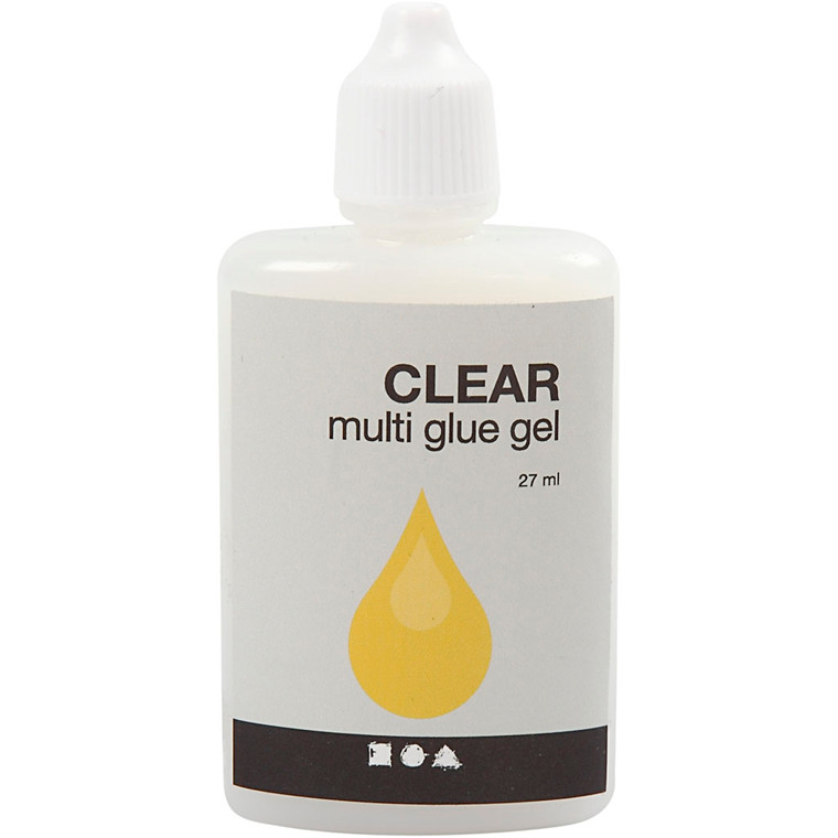Multi Glue Gel Clear - 27 ml