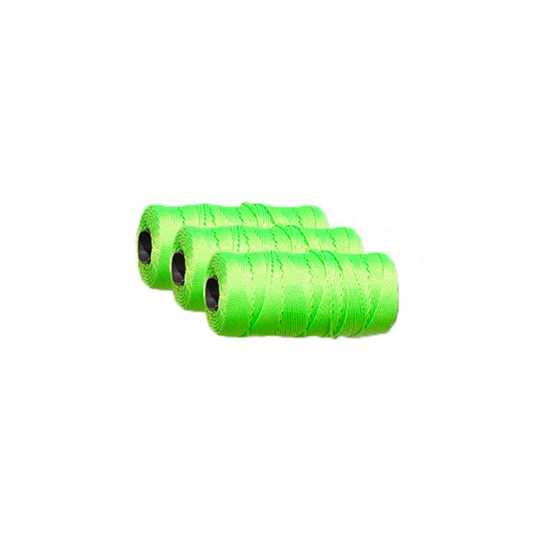 Mursnor 6/8 nylon neongrøn 3-pak