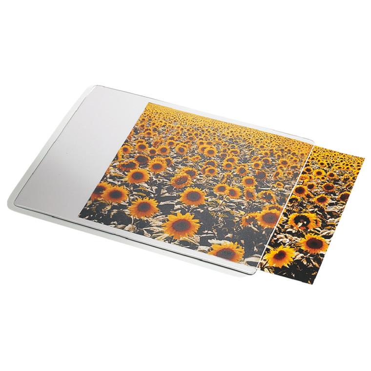 Dataline musemåtte med transparent indstikslomme - 19 x 24 cm