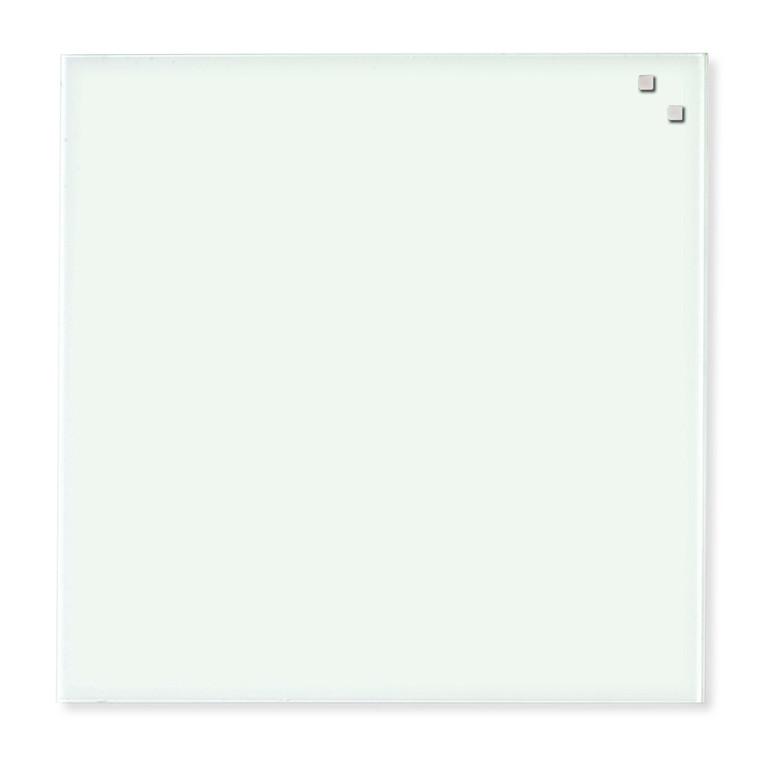 Naga Glastavle - magnetisk 45 x 45 cm hvid