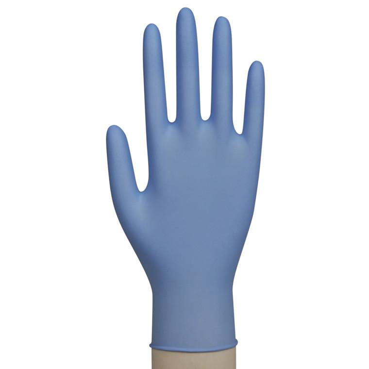 Nitril Engangshandsker Excellent Large - Blå uden pudder