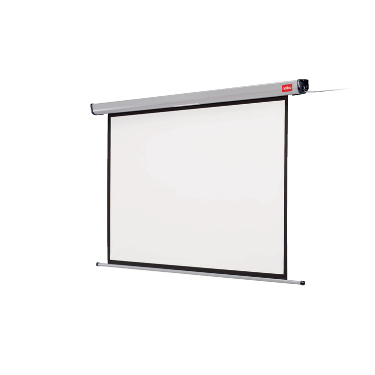 Nobo Elektrisk Lærred til væg -  Format 4:3 Størrelse 192 x 144 cm