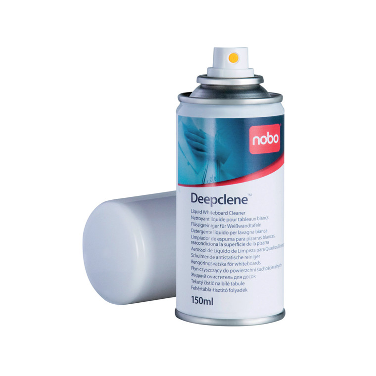 Nobo Whiteboard Rensespray Deepclene - 150 ml