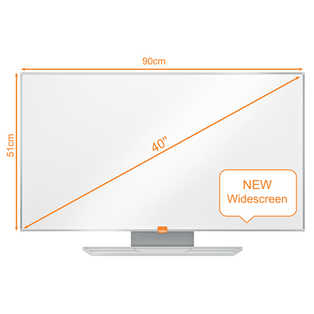 Whiteboard Nobo NanoClean widescreen 40""